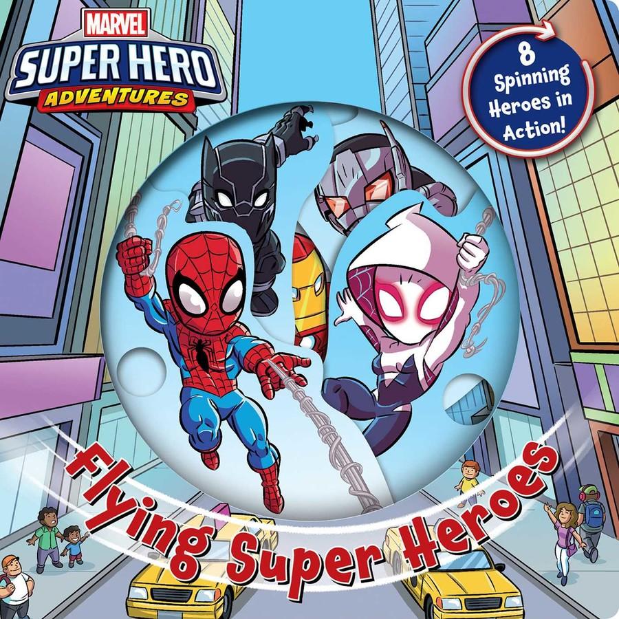 Marvel Flying Super-Heroes by Dario Brizuela
