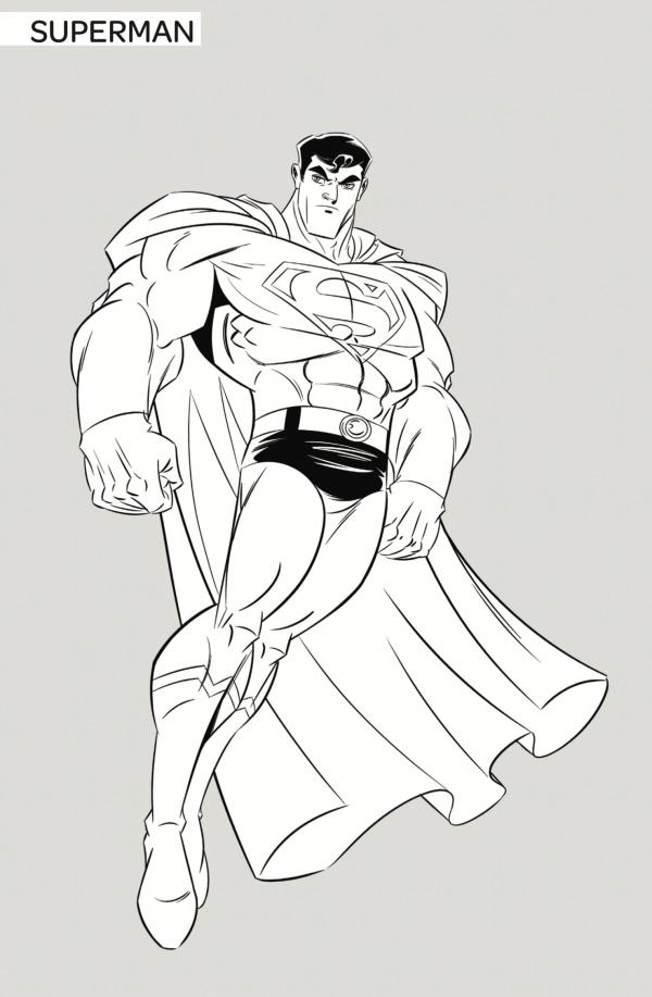 Superman by Dario Brizuela