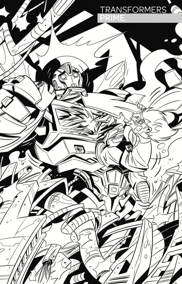 Transformers by Dario Brizuela