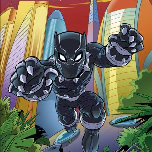 Cartoony Black Panther