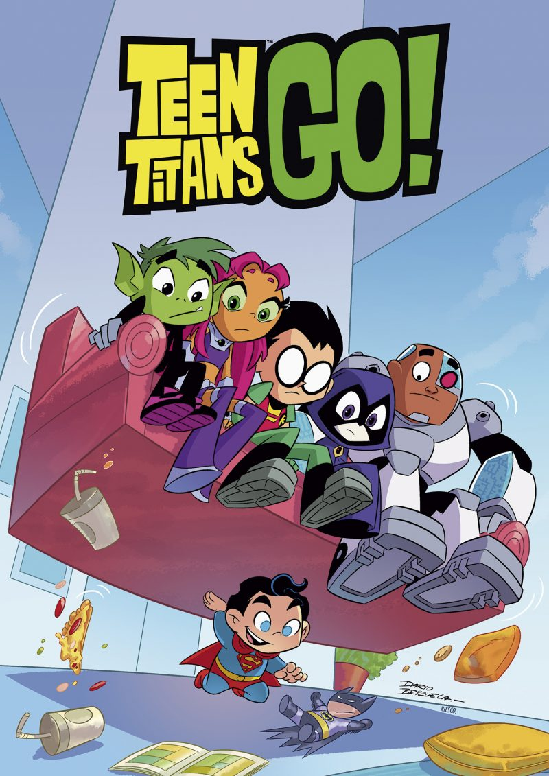 Superbaby lifts the Teen Titans