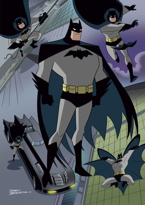 Batman: TAS by Dario Brizuela